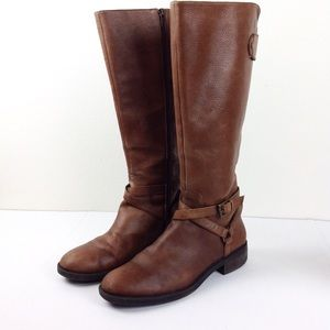 Enzo Angiolini Leather Riding Boots 10